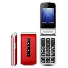Folding cellphone 2.4 Inch screen flipphones Dual SIM SOS Button Keypad 4g flip phone UNIWA F247L