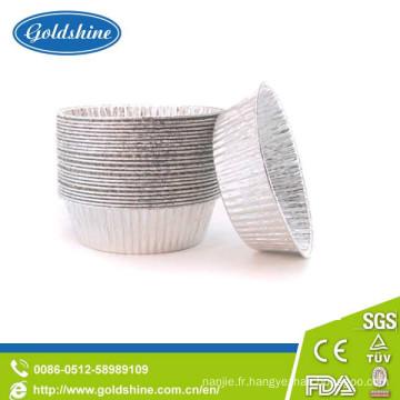 Moules à cupcake en aluminium de qualité alimentaire
