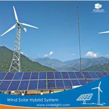 Sistema do banco das energias solares do vento do prazer 10kw