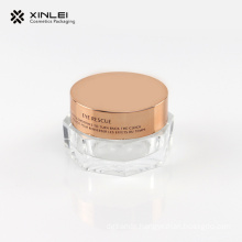 15 g Octangle Shape Cosmetics Acrylic Jar