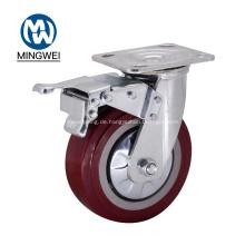 Abschließbares 6-Zoll-Lenkrad mit Bremse