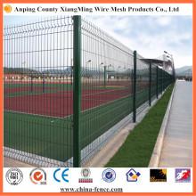 Clôture de sécurité clôture en métal clôturant la clôture en fer