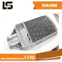 O alumínio personalizado morre a carcaça para as peças da iluminação do diodo emissor de luz