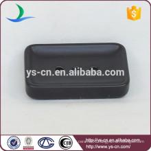YSb50085-03-sd new pattern black ceramic soap dish product