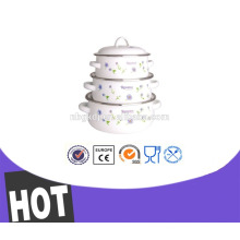 Новый продукт 3 шт эмалированную кастрюлю 3-дюймовый глиняный котелок