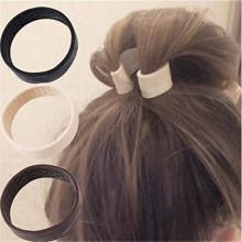 Faixa de cabelo elástica estacionária dobrável de silicone personalizada