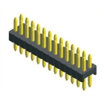 0,8 mm Pin Header Dual Row Straight Type
