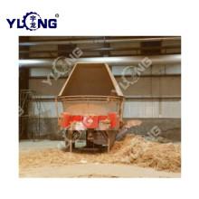 Линия по производству пеллет из травы люцерны