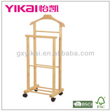 Suporte de madeira maciça