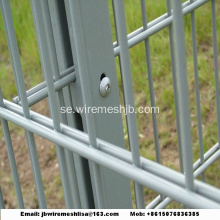 868/656 Powder Coated Dubbel Wire Mesh Fence Panel