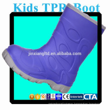 JX-916P colorful TPR kids rain boots for Kids