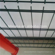 PVC coated 6/5/6 wire diameter mesh fencing / twin bar double horizontal wire mesh fence