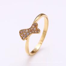 12343 anel de xuping jóias mulheres anel de ouro anéis de jóias de moda
