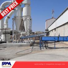Application de feldspath de potassium super micro usine de broyage pour le Nigeria