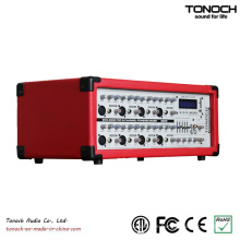 300 Watt RMS 8-Kanal PRO Audio Powered DJ Mixer