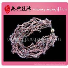 Shangdian Schmuck Seide Knoten Vogue Armband