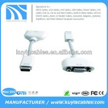 Câble adaptateur vidéo Mini DVI vers VGA pour Apple Mac