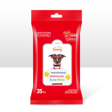 Pet Grooming Cleaning Wipes for Dog