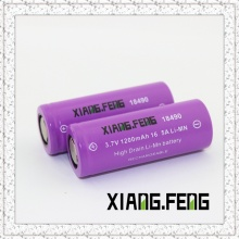 3.7V Xiangfeng 18490 1200mAh 16.5A Batterie au lithium rechargeable Imr