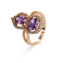 11514 joyería de moda de la joyería de Xuping, nuevo anillo de dedo plateado oro del diseño 18K