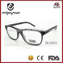 Nuevo producto 2015 unisex acetato hecho a mano gafas ópticas marcos
