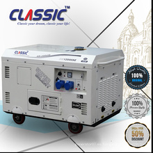CLASSIC (CHINA) Homeuse Generador diesel silencioso de 6-10KW en 220V 230V, generador diesel de 10 kilovatios