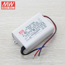 Original MEANWELL triac regulable 700mA corriente constante conductor led 25W UL PCD-25-700A