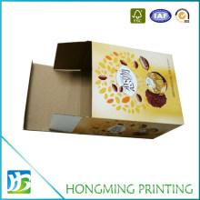 Custom Printed Corrugated Cardboard Packing Box for Food