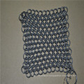Chinese Stainless steel chainmail scrubber/stainless steel ring mesh