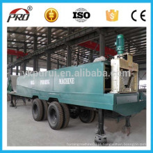 1220-800 Large Large Color Sheet Construction Arch Roof Forming Machine