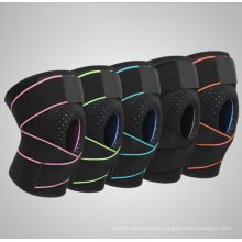Comfortable non slip compression knee movement neoprene knee band elastic band suitable Knee brace for running