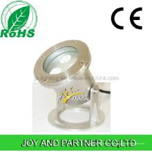 Нержавеющая сталь 9W светодиодный подводный прожектор с кронштейном (JP90032)