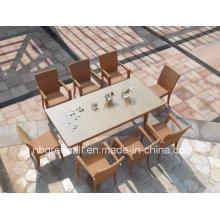 Venta al por mayor de muebles de jardín de ocio de sillas apilables