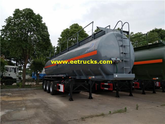 36T Glacial Acetic Acid Tank Trailers