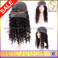 Mongolian Ombre Silk Top Curly Human Hair Full Lace Bob Style Wigs