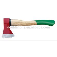 Atacado machado e com punho de madeira