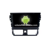 ¡CALIENTE! DVD de pantalla táctil completo de 10.1 pulgadas para el sistema Android Toyota VIOS