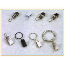 Cortina clipes de suspensão, cortina pendurado clip, cortinas de anel de grampo