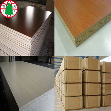 Melamine faced chipboard laminated particleboard 18mm