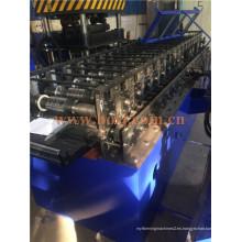 Supermakret Goods Display Estanterías de acero Roll Formando la máquina de producción Jeddah