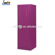 Clothes storage small steel colorful kids cabinet
