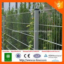 ISO9001 Dupont Pó revestido Double Wire Mesh soldado painéis de cerco da China Alibaba