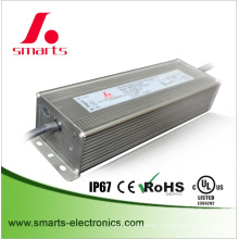 IP67 CE UL 3000ma 120w dali dimmable LED drive power supply