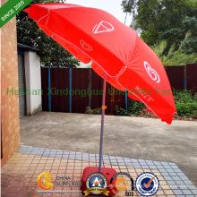 Paredes à prova de vento sol praia guarda-chuva Parasol com Tilt (BU-0048TW)