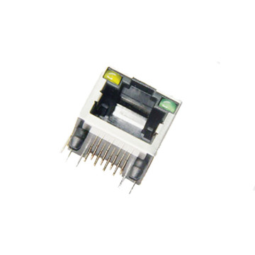 RJ45 10P8C GOLD FLASH CONNECTOR