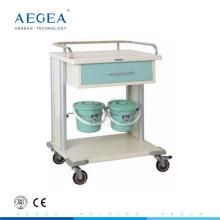 AG-MT029 hospital laundry trolleys with four luxurious noiseless casters