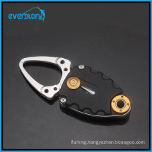 Portable 9.5cm Aluminum Mini Fish Lip Grip Gripper Fishing Grabber Grips