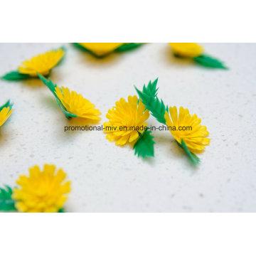 Дешевые декоративные искусственные Пластиковые цветы хризантемы для ресторана