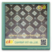 Fashion New Design Latest Style Polyester Jacquard Fabric Curtain