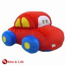 Kundenspezifisches förderndes reizendes Baby weiches Spielzeugauto